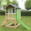 Exit Dřevěný domeček Loft 500 zelený 2