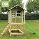 Exit Dřevěný domeček Loft 500 zelený 3