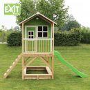 Exit Dřevěný domeček Loft 500 zelený 4