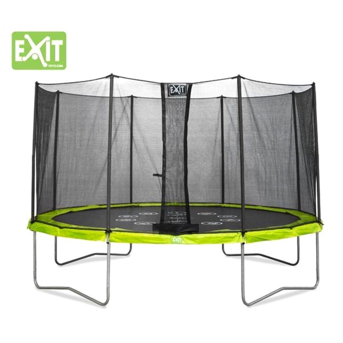 Exit Trampolína Twist se sítí 427 cm Green Grey