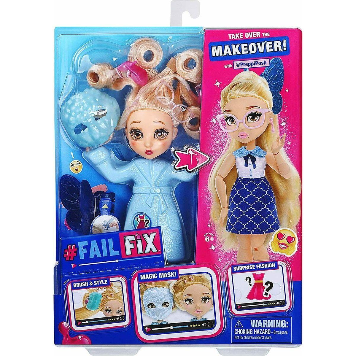 Fail Fix bábika Preppiposh