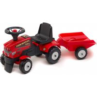 Falk Odstrkovadlo traktor Farm Mustang 350S s volantem a valník