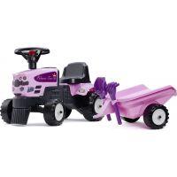 Falk Odstrkovadlo Traktor Princess s volantem a valníkem 2