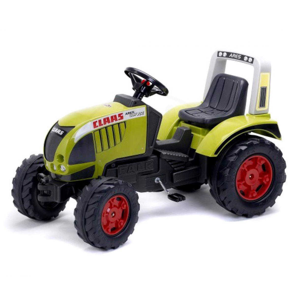 Falk Šlapací traktor Claas Arion zelený