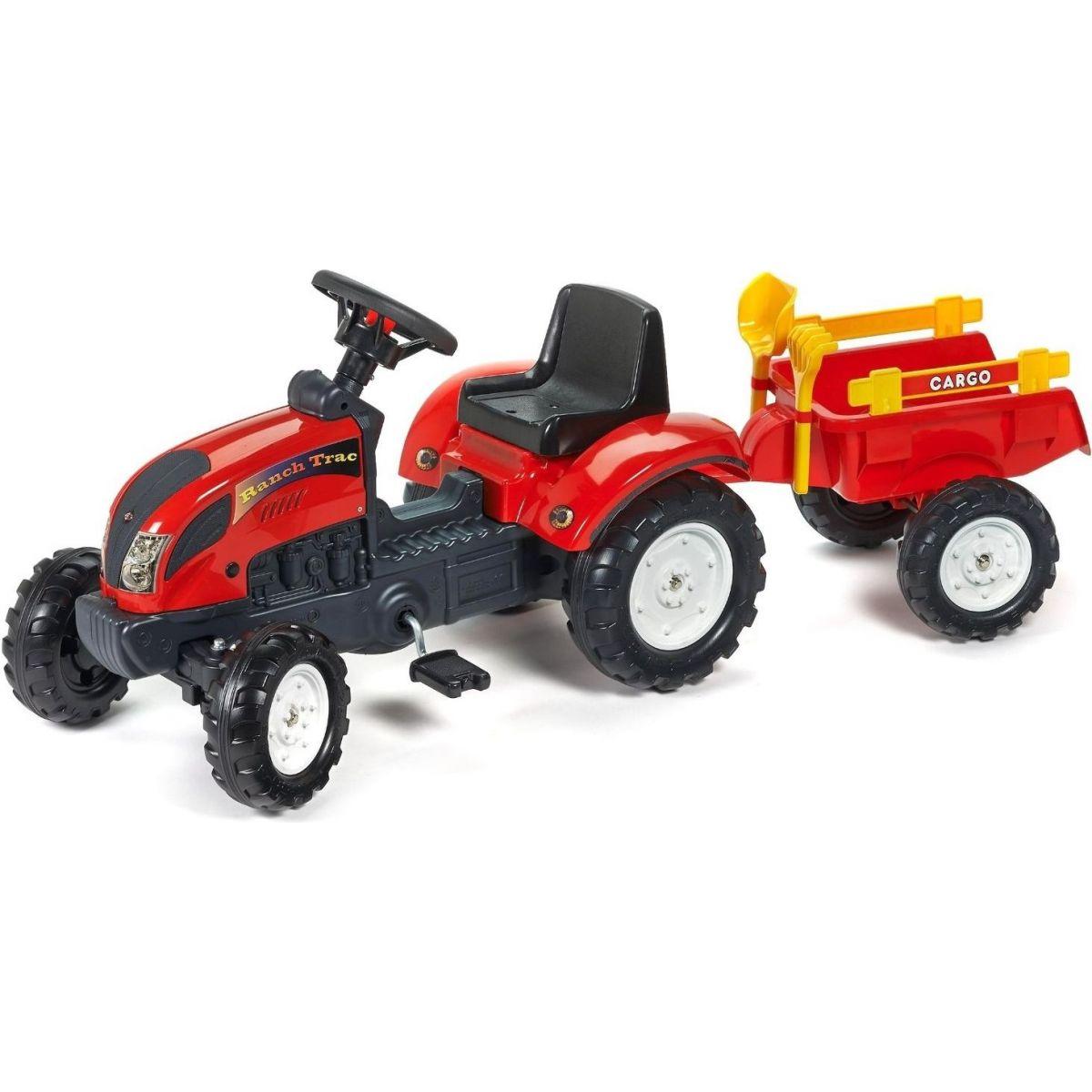 Falk Šlapací traktor Ranch Trac s valníkem