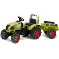 Falk Traktor Claas Arion 540 s vlekem