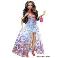 Fashionistars hvězdy Barbie V7206 - Glam 5