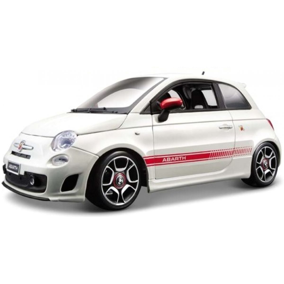Fiat 500 Abarth Bburago 1:18