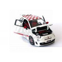Fiat 500 Abarth Bburago 1:18 2