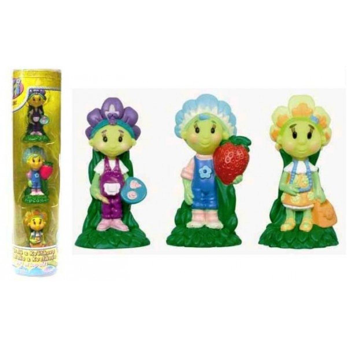 Fifi z Květíkova Fifi, Violka a Prvosenka 3 figurky v tubě