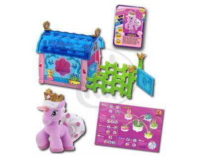 EPline EP01386 - Filly Unicorn sada město - Romance House