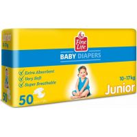Dollano Fine Life Junior Diapers 50 pcs