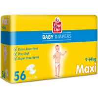 Dollano Fine Life Maxi Diapers 56 pcs
