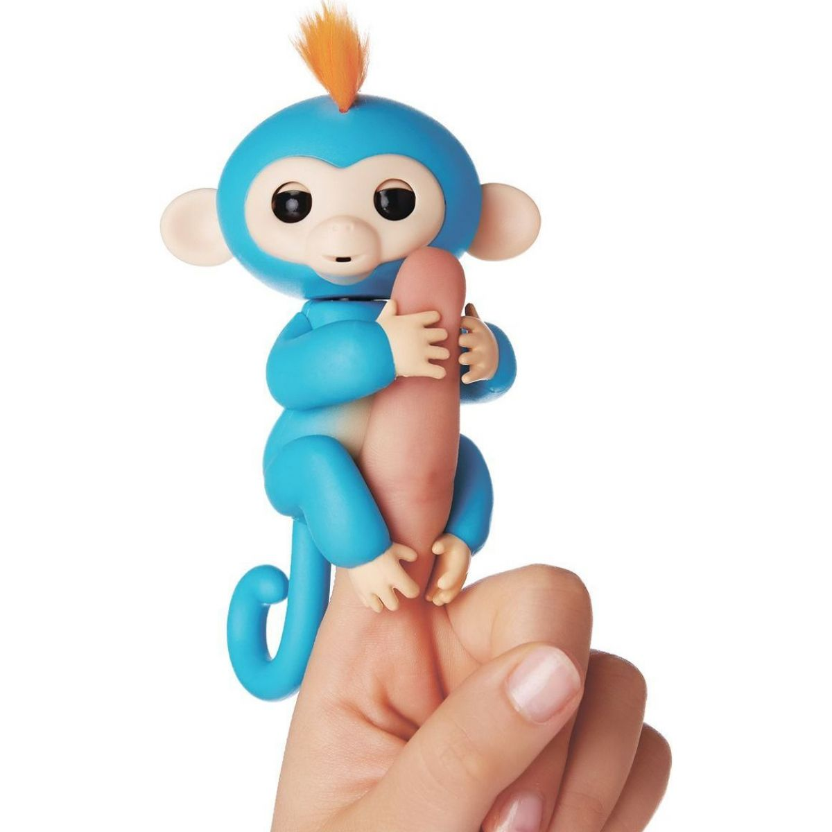 Fingerlings Opička Boris modrá