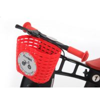 First Bike Košík na řidítka červený