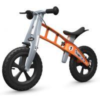 First Bike Odrážedlo Cross orange s brzdou