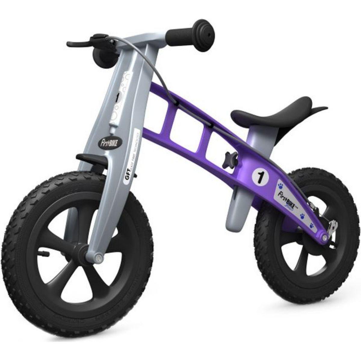 First Bike Odrážedlo Cross Violet