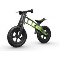 First Bike Odrážadlo Fat Edition Green - Poškodený obal