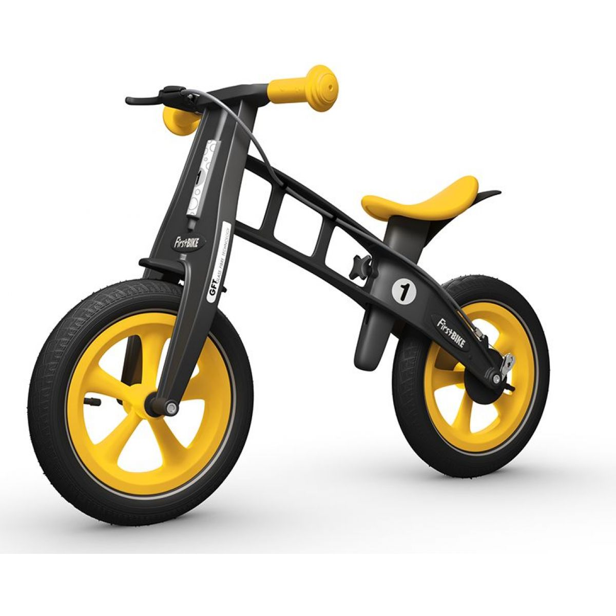 First Bike Odrážedlo Limited edition Yellow