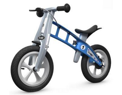 First Bike Odrážedlo Street light blue s brzdou