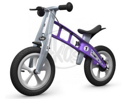 First Bike Odrážedlo Street violet s brzdou