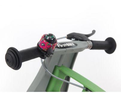 First Bike Zvonek kompas růžový