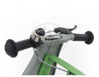 First Bike Zvonek kompas stříbrný