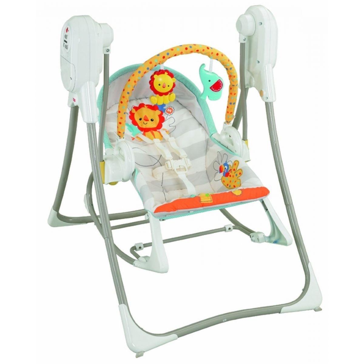 Fisher Price Baby Gear houpačka a sedátko 3 v 1 (Fisher Price BFH07)