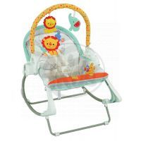 Fisher Price Baby Gear houpačka a sedátko 3 v 1 (Fisher Price BFH07) 2