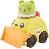 Fisher Price chrastící vozítka žlutý bagr