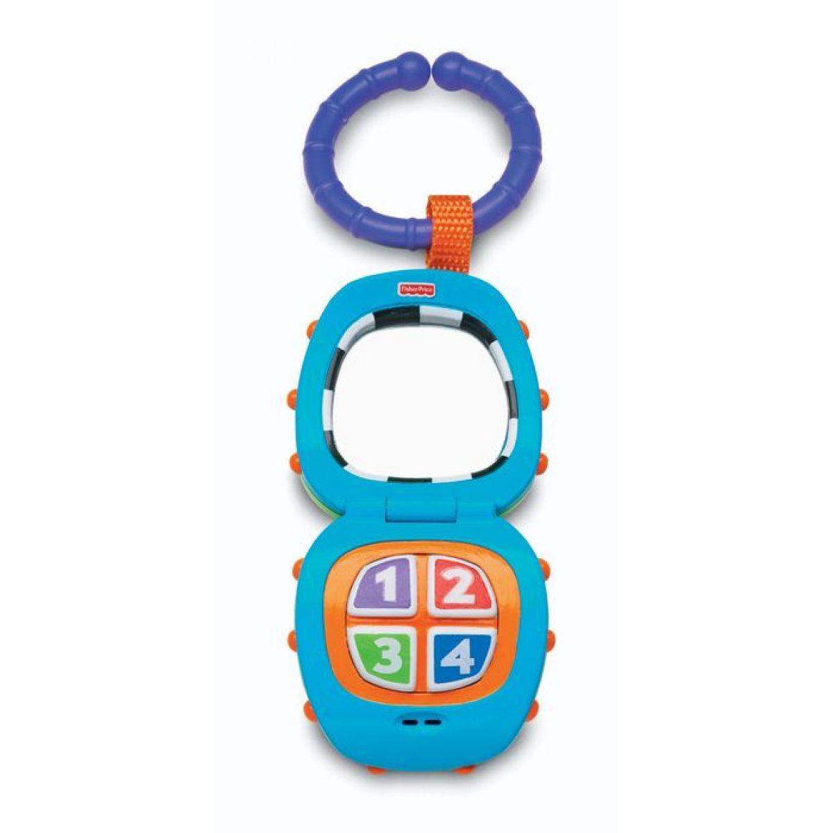 Fisher Price - Hudební chrastítko telefonek (K7189)