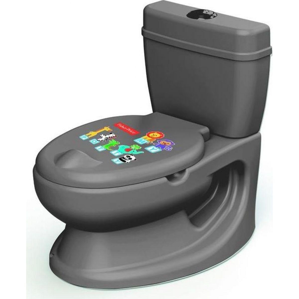 Fisher-Price Dětská toaleta šedá