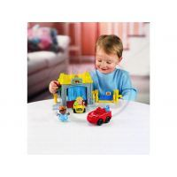 Fisher Price Garáž a myčka Mattel