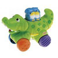 Fisher Price Jezdící zvířátko - Krokodýl