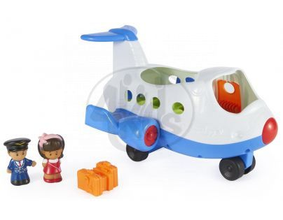 Fisher Price Little People - Hrající letadlo CZ (Fisher Price CBL49)