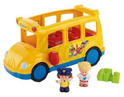 Fisher Price Little People hrající školní autobus cz (Fisher Price CBL69)