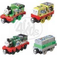 Fisher Price Mašinka Tomáš Take-n-Play Multi Pack - Sodor's Green Team