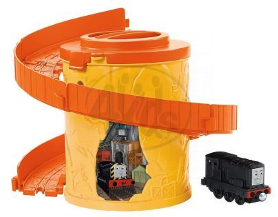 Fisher Price Mašinka Tomáš Take-n-Play Spirála - Diesel