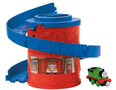 Fisher Price Mašinka Tomáš Take-n-Play Spirála - Percy