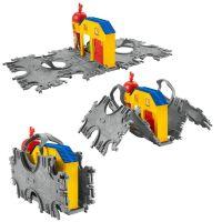 Fisher Price Mašinka Tomáš Take-n-Play Přenosná herní sada koleje - McColl´s Farm Tile Tracks 2