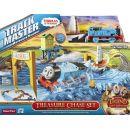 Fisher Price Mašinka Tomáš TrackMaster set Lov pokladu 2