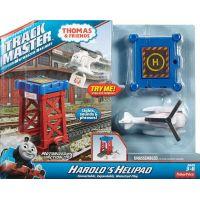 Fisher Price Mašinka Tomáš TrackMaster Trať se záchrannou stanici - Haroldův heliport 6