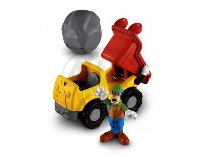 Fisher Price Disney Mickey dopravní prostředky - Goofyho náklaďák