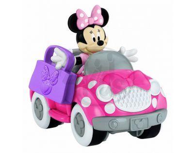 Fisher Price Disney Mickey dopravní prostředky - Minnieino auto