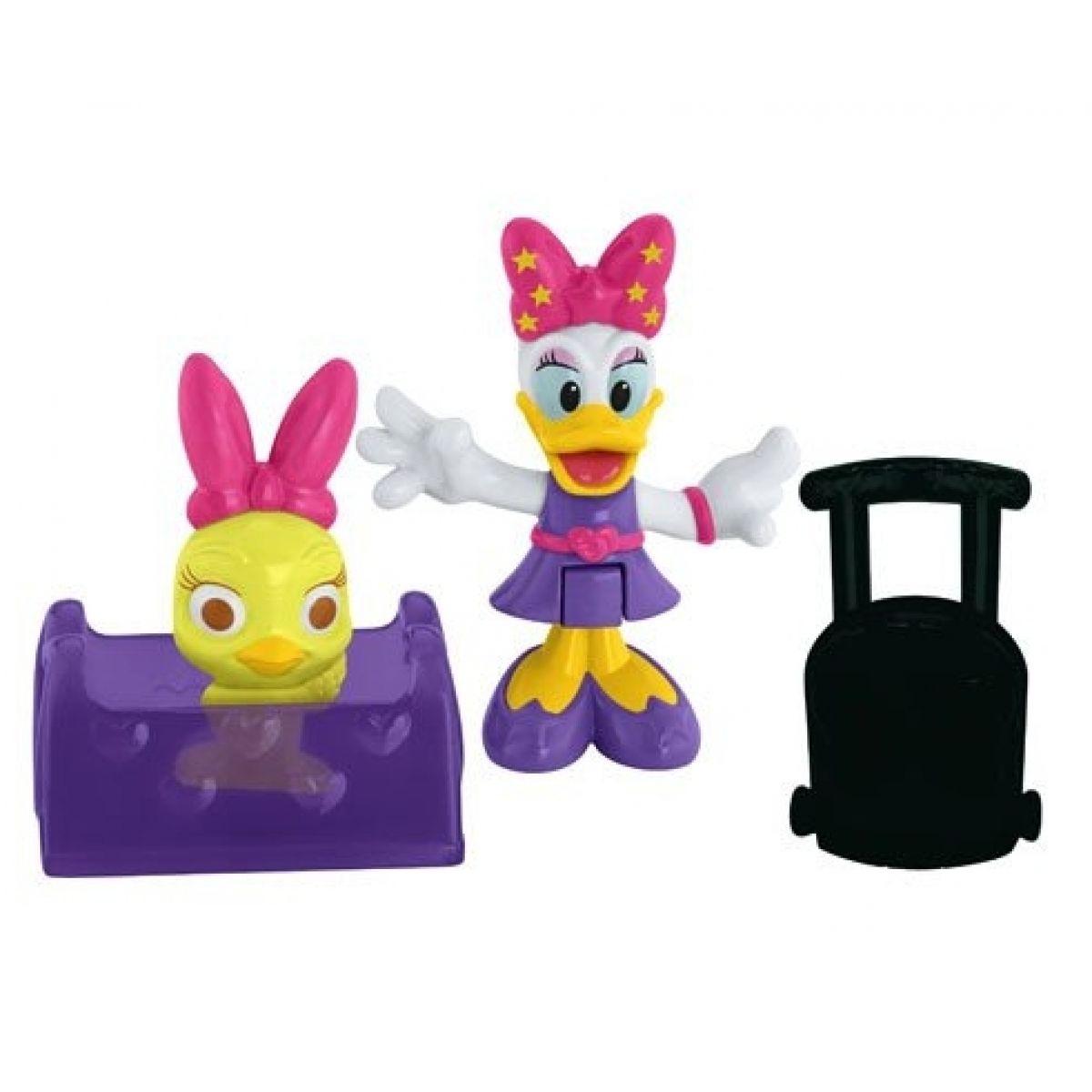 Fisher Price Minnie a Daisy figurka s doplňky - na cestách s Daisy