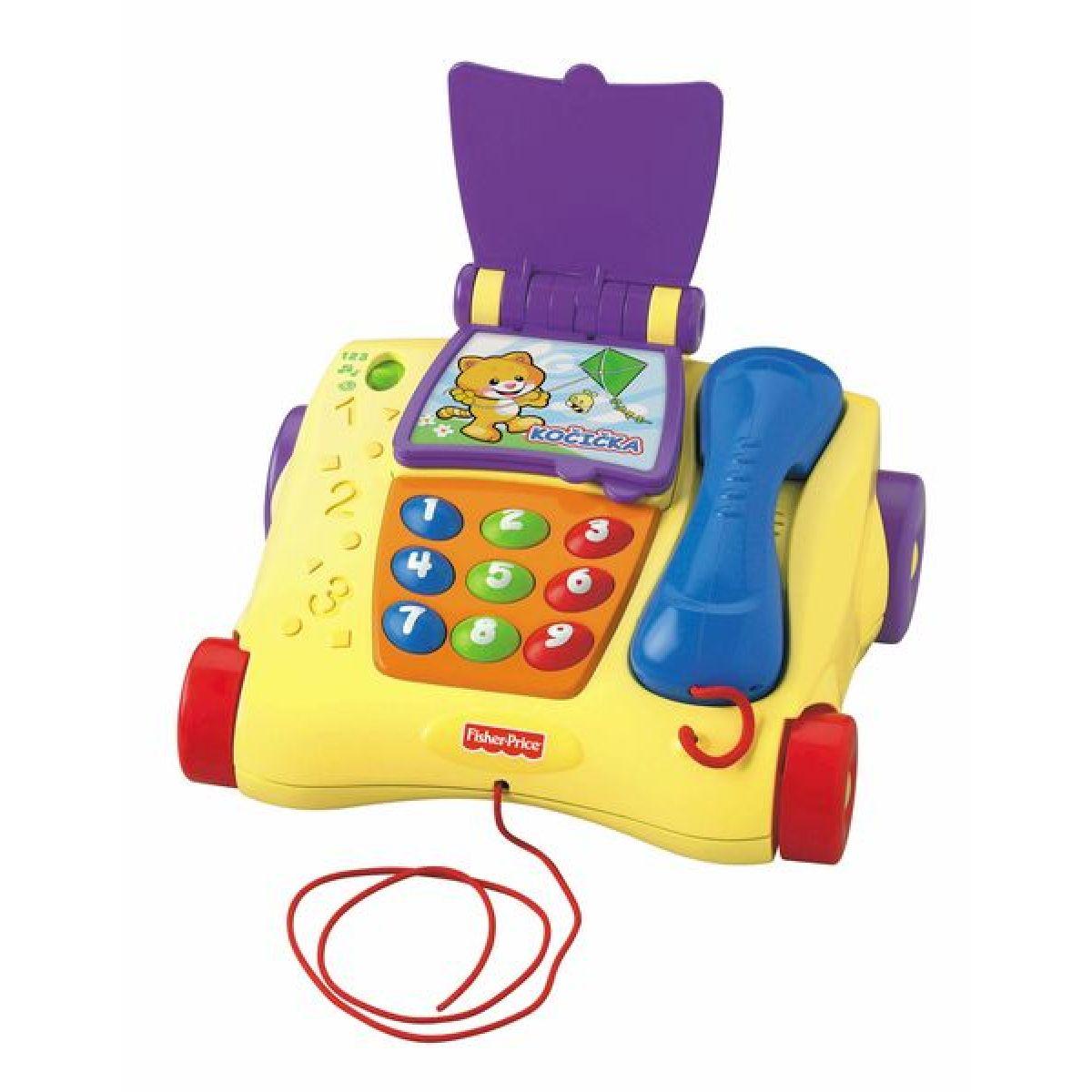 Fisher Price T1632 - Mluvící tahací telefon