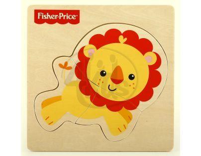 Fisher Price Moje první puzzle 3d - Lev