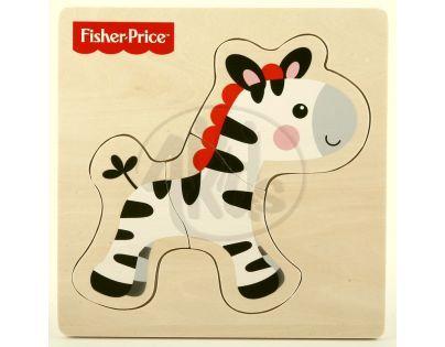 Fisher Price Moje první puzzle 3d - Zebra
