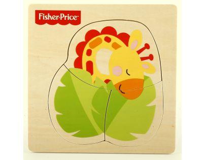 Fisher Price Moje první puzzle 3d - Žirafa