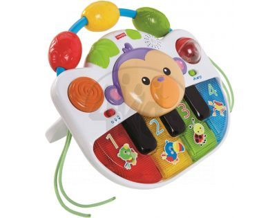 Fisher Price piano rostoucí s dítětem (Fisher Price BFH64)